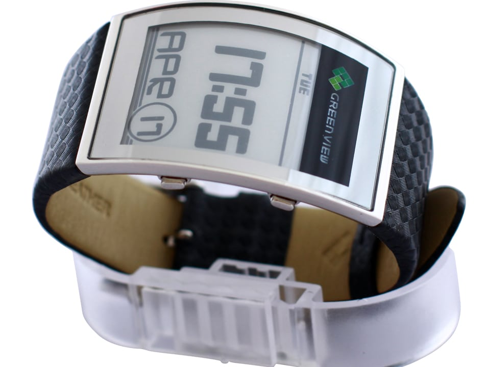 Green View Curved Watch