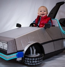 Halloween DeLorean Push Car Build