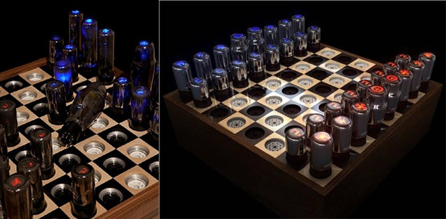 High Tech Vacuum Chessboard