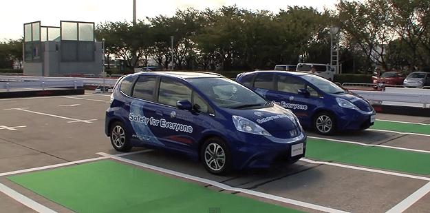 Honda Presents Driverless Valet Parking System