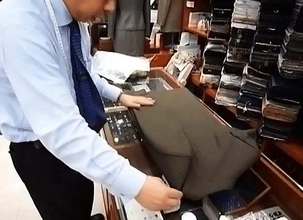How To Fold Suit