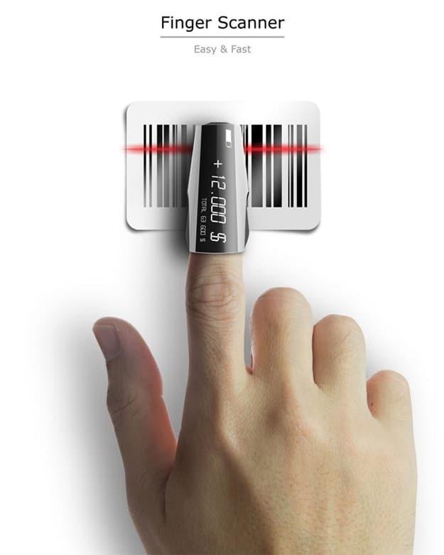 Innovative Finger Barcode Scanner