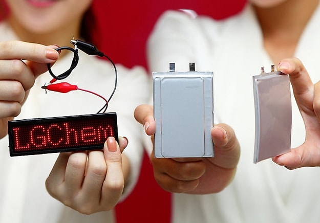 LG Chem Flexible Batteries