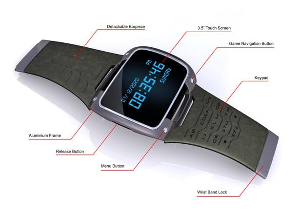 Mimos Wrist PC Watch