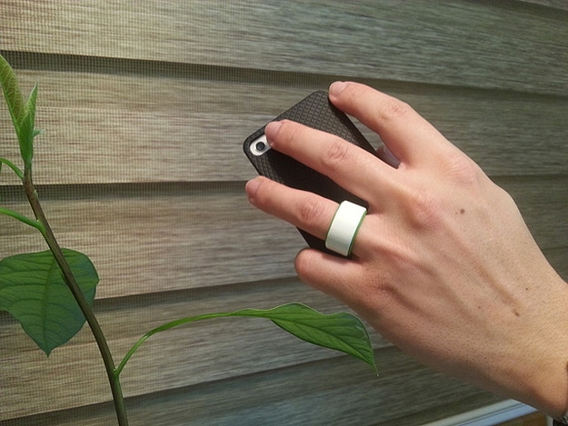 NFC Smartphone Security Ring
