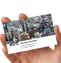 Social Business Card: Create Instant Networking Profile Business Card