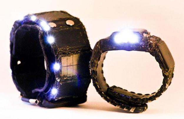 Sol Cuff Charging Wristband