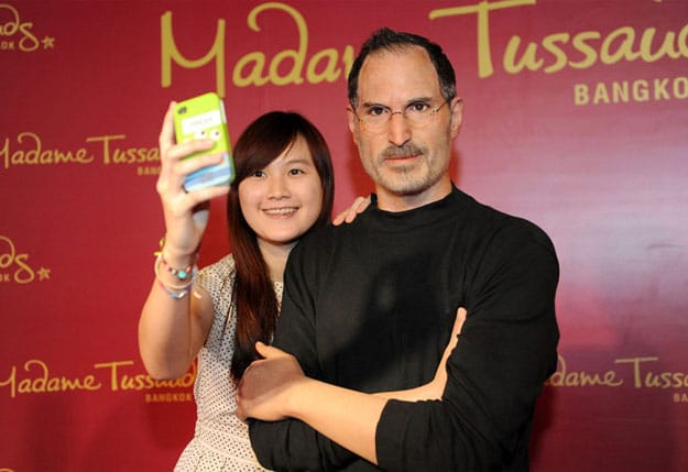 Steve Jobs Wax Figure