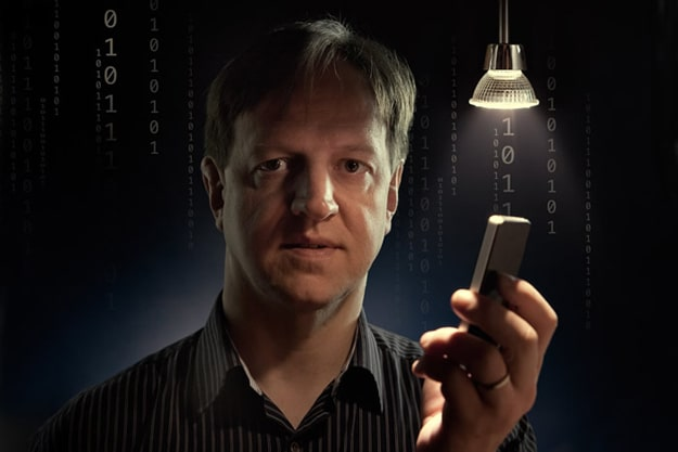 Harald Haas Unveils Wi-Fi Light Bulbs To Power Our Internet Experience
