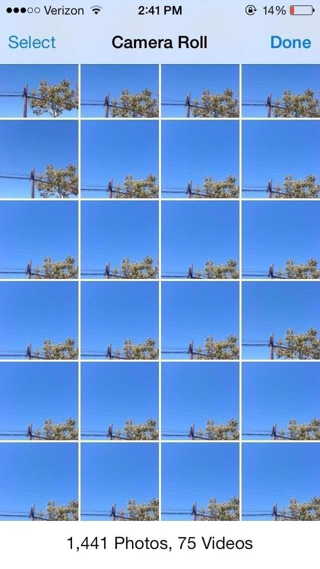 How To Take Pictures In Burst Mode On Your iPhone With iOS 7 [Video]