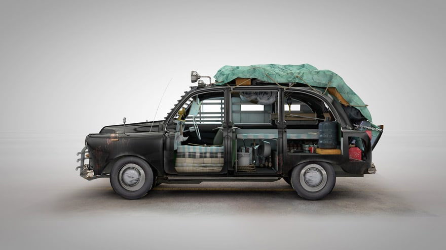 Live, Drive And Survive: 4 Vehicles Pimped Out For A Zombie Apocalypse