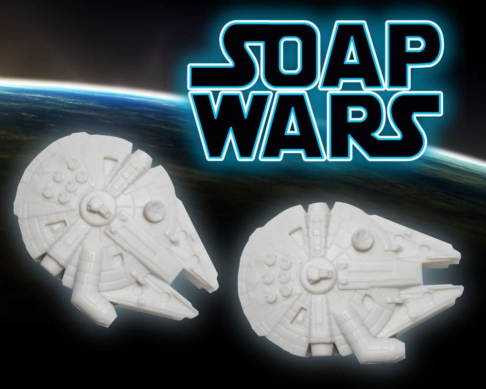 Handmade Star Wars Soap Will Keep You From Smelling Like A Wampa