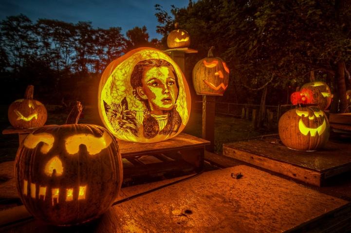 halloween-night-pumpkin-carvings
