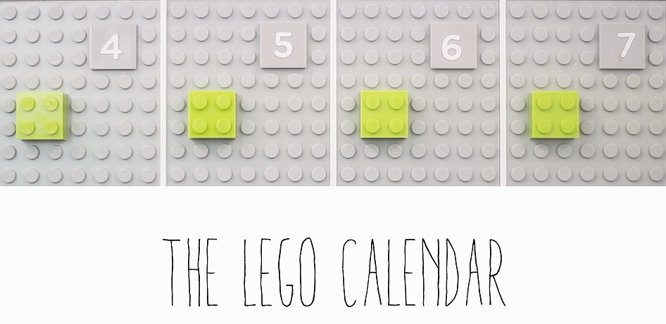 LEGO Calendar Hangs On The Wall Yet Synchronizes With Google Calendar