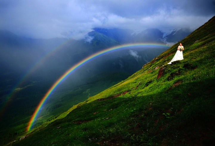 15 Awe-Inspiring Double Rainbows From All Around The World