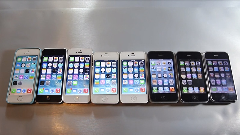 The Ultimate iPhone Speed Test On Every iPhone Ever Made [Video]