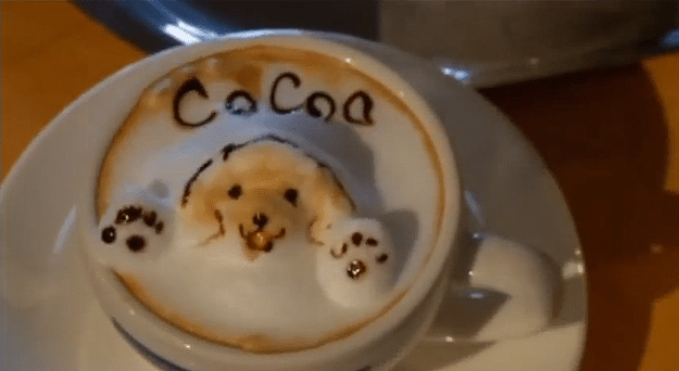 3d Coffee Froth Art