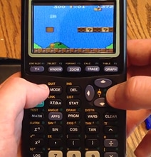 Guy Hacks Calculator To Play Game Boy Games