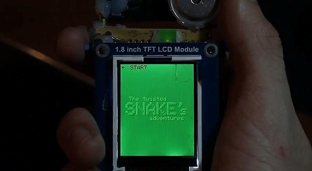 Custom Handheld Console Build
