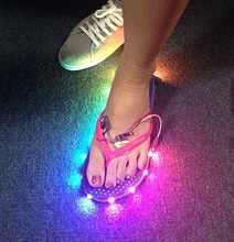 LED Flip Flops Add A Light Show To Your Casual Footwear