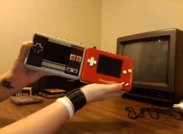 HandyNES Portable Nintendo NES