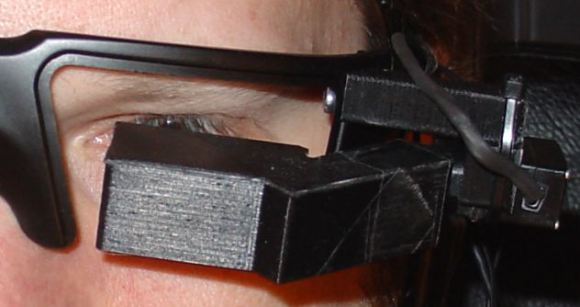 Home-Brew Heads-Up Display Glasses: Who Needs Google Glass Anyway