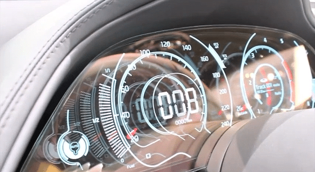 KIA Transparent Car Dashboard