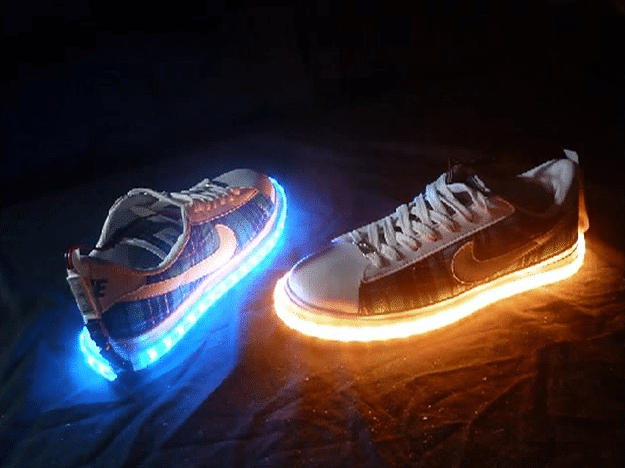Vision X LED Shoe Kit Will Make You Walk On Light