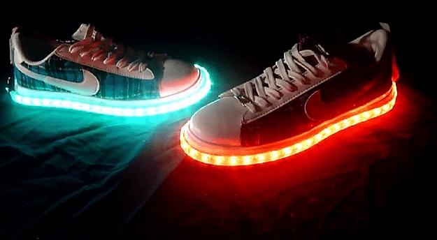 LED Shoe Lights Kit