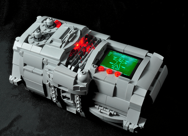 Working LEGO PIP-Boy 3000 Is Far From Your Standard LEGO Wear