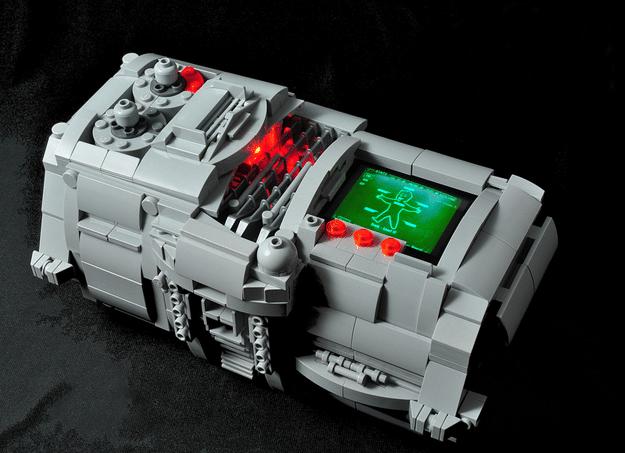 Working LEGO PIP-Boy 3000 Is Far From Your Standard LEGO Wear