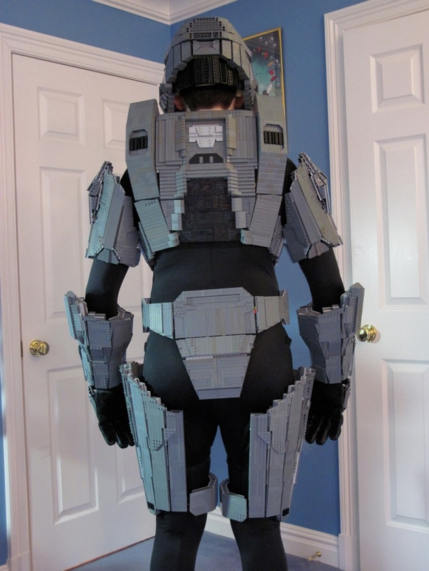 Lego Master Chief Costume