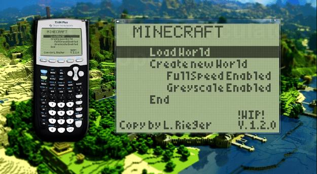 Math Whiz Recreates Minecraft Gameplay On His Graphing Calculator