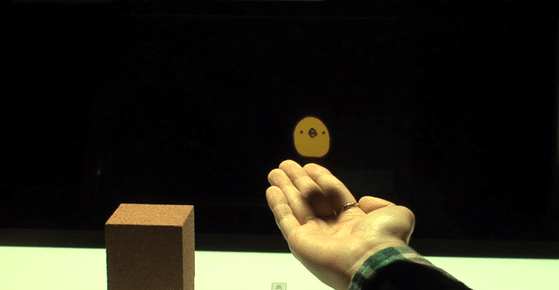 Naemura Lab First To Create Realistic Holographic Interaction