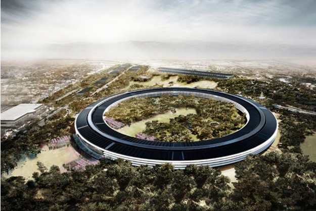 New Pictures Apple Headquarters