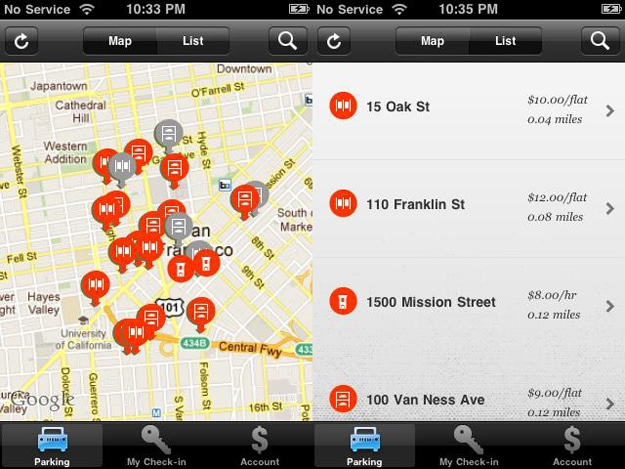 Park Circa Parking App