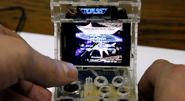 This Pocket-Sized Micro Arcade Cabinet Is A Gamer's Dream