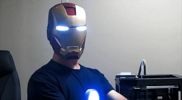 3D Printed Iron Man Helmet Is Closest Attempt Yet To The Real Deal