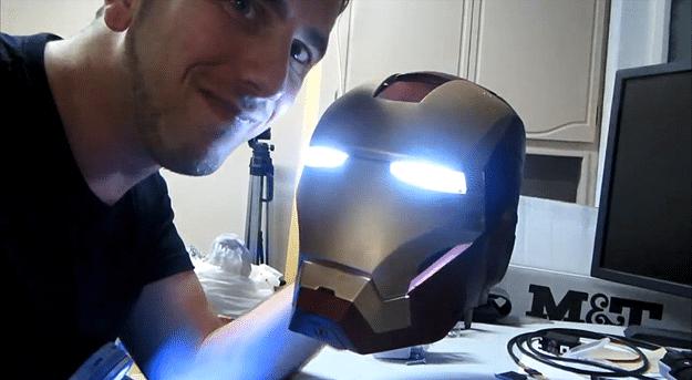 Printed Iron Man Helmet