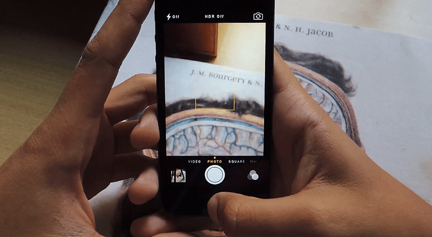How To Take Secret Photos Using The Stock iPhone Camera App In iOS 7