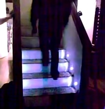 Automated Sensor-Controlled Stair Lights Make Sleepwalking More Safe