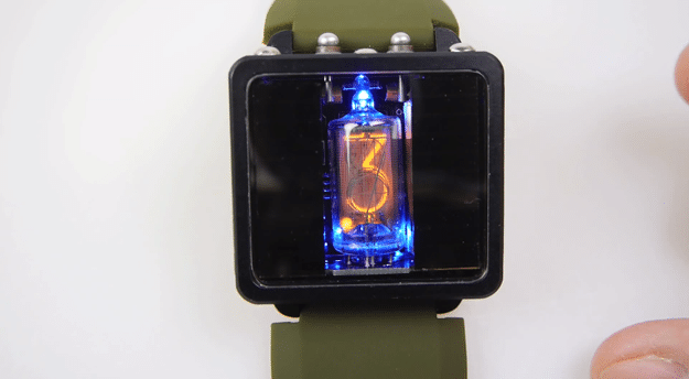 Solar Powered Nixie Watch