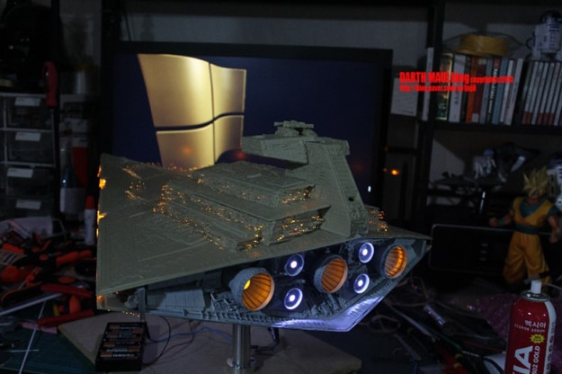 Star Destroyer Model Build