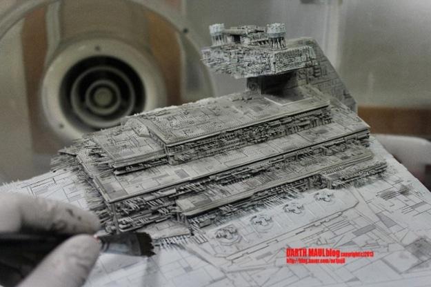 Star Destroyer Model Build