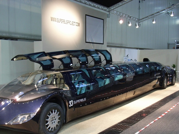 Superbus: World's Coolest & Sporty Looking Limousine