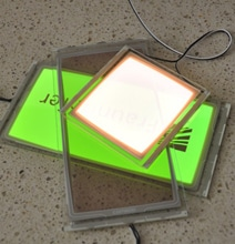 Fraunhofer Presents Transparent Wall Glass Light Panels