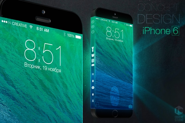 Three-Sided iPhone 6 Concept