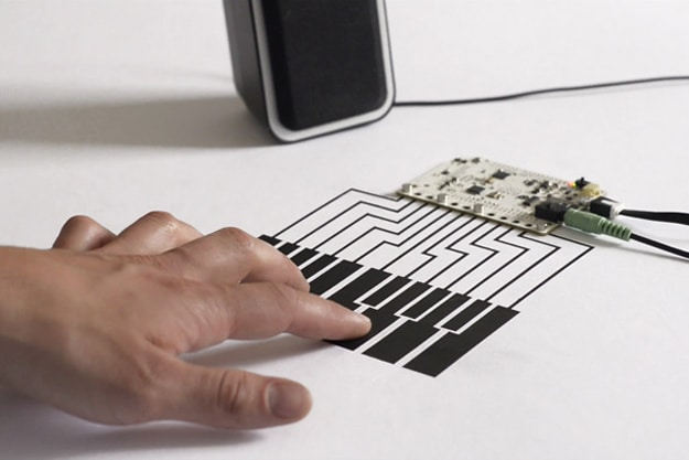 Touch Board Conductive Material