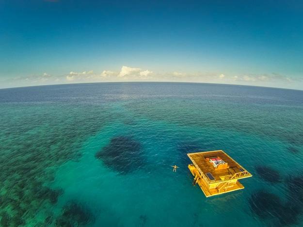 Underwater Exotic Hotel Room