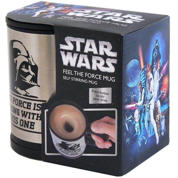 Vader Self-Stirring Mug
